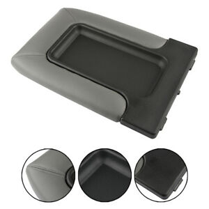 Gray Center Console Lid Arm Rest Latch For 99 07 Chevy Silverado Oem Gm 19127364