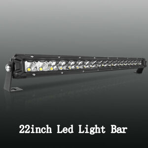 Cree 36inch 4524w Led Light Bar Spot Flood Quad Row Offroad Truck Driving Lamps