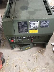 Mep 831a 3kw Diesel Continous Run Generator Tactical Quiet Military