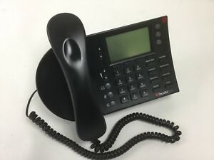 Shoretel 230 Sev Black Ip Telephone With Stand And Headset