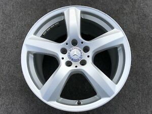 1 Genuine Mercedes Cls 18 Rim Wheel Factory Oem Front 85233 A2184010702 Rare
