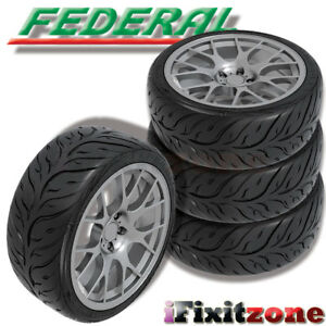 4 Federal 595rs Rr 205 50zr15 89w Ultra High Performance Tires