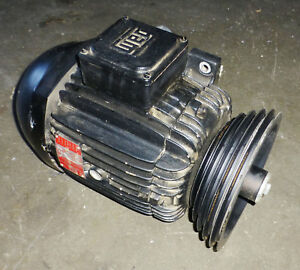 Delta Invicta Rs 15 Shaper Replacement Parts 7 5 Hp Motor With Pulleys 220 480v