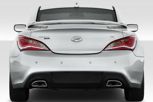 2010 2016 Fits Hyundai Genesis Coupe 2dr Sqx Rear Wing Spoiler 1 Pc 113423