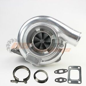 Universal Performance Turbo Gt30 Gt3076 Ar 106 V Band T3 3 Flange Clamp