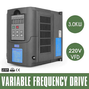 3kw 4hp 13a 220vac Single Phase Variable Frequency Drive Inverter Vsd Vfd