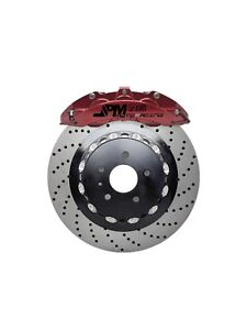 Jpm Front Rs Big Brake 6pot Caliper Anodized Red 355x32 Drill Disc For A5 8t