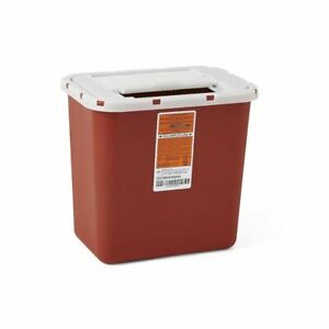 6 Pack 2 Gallon Sharps Container Needle Disposal Home Doctor Tattoo 2gl Sharp