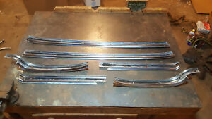 1962 Cadillac Coupe Deville Side Window Weather Stripping Trim Free Us Shipping