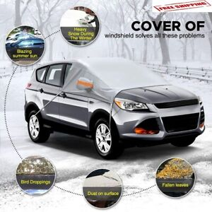 Auto Windshield Snow Cover Waterproof Car Ice Frost Sunshade Car Protector Suv