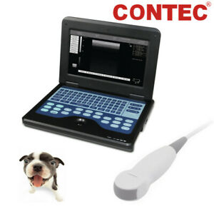 Vet Veterinary Portable Laptop Ultrasound Scanner Machine For Dogs Cats Animal
