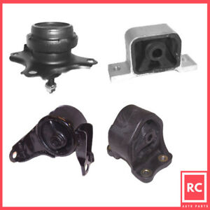 Motor Trans Mount Set 4pcs For 2003 2011 Honda Element 2 4l For Auto Trans