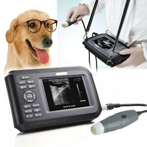 Portable Veterinary Scanner Ultrasound Scanner Machine For Animals With Case