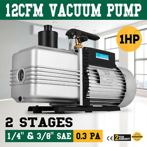 Vacuum Pump Air Conditioner Refrigeration 12 0 Cfm 2 Stage 1hp Hvacuum Pumps