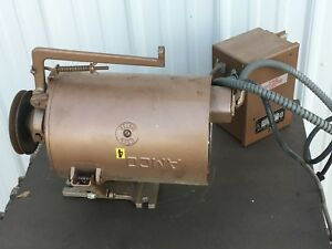 Amco Union Special Commercial Sewing Machine Slip Clutch Motor 1 3 Hp Scm 01