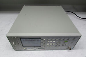 Leader Lg 3802 Isdb t Signal Generator 50 860mhz Opt 71 72a