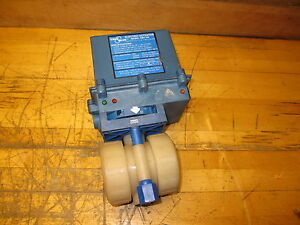 True Blue Ebv 104 Electric Actuator With 1 1 2 Ball Valve