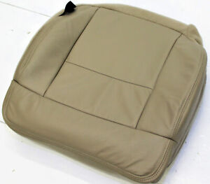 2004 2008 Ford F150 Xlt Pickup Driver Front Tan Leather Seat Cushion Uphol Cover
