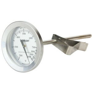 Stainless Steel Casting Thermometer Temp Probe Lead Bullet Melting Gunsmith Tool