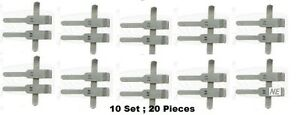 Ss Stainless Steel V 3 Neurosurgery Micro Vascular Clamps Ten 10 Set 20 Pieces