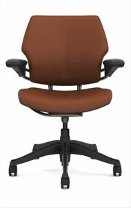 Freedom Task Chair By Humanscale Tan Leather