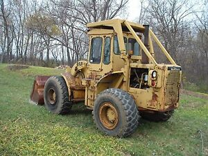 Caterpillar 950 Cat 950 Loader With Cab And Rops Runs Works 4 Speed Power Shift