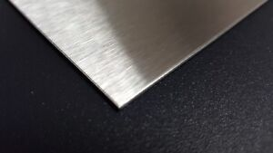 Stainless Steel Sheet Metal 304 4 Brushed Finish 22 Gauge 25 In X 25 In