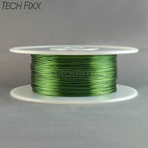 Magnet Wire 20 Gauge Awg Enameled Copper 630 Feet 2 Lbs Coil Winding 155 c Green