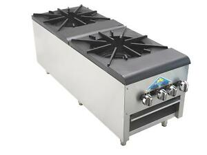Comstock Castle Ccsp 2 220k Btu High Power Two Burner Stock Pot Range