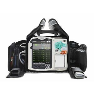 Philips Mrx Loaded Biphasic 12 lead Ecg Aed Pacing Spo2 Bp Co2 Bluetooth