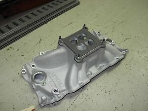 Nos Offenhauser Big Block Chevy Bbc Rectangular Port Dial A Flow Victor Torker