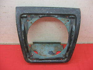 1965 1967 Chevy Impala Convertible 2 Dr Ht Caprice Rr Seat Speaker Housing 3938