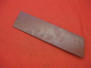 1961 1962 Belair Bubble Top Biscayne 2 4 Door Sedan Radio Delete Plate 2569