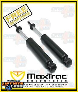 Maxtrac 1650sl 1 2 3 Lift Front Shocks Pair 1999 2006 Chevy Silverado 1500 2wd