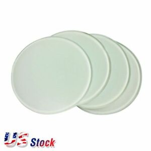 Us Stock Round Sublimation Blank Glass Coaster Diameter 3 9