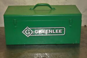 Greenlee Hydraulic Foot Pump 1 2 To 2 Knockout Set 1725 Kit