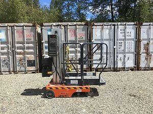 Jlg 12sp Man Lift Scissor Boom Electric Genie Warehouse