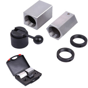 5c cb Collet Block Set Chuck Square Hex Rings Collet Closer Holder W case