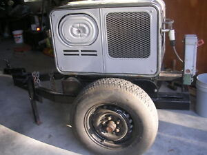 Honda Water Cooled Engine 5000 Watts Generator With Trailer