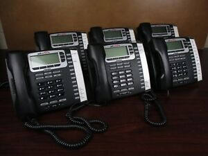 Lot Of 6 Allworx 9212 Voip Phone With Handset And Stand