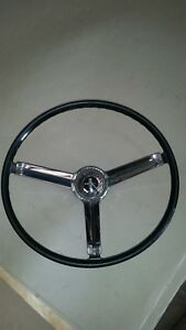 1967 Camaro Steering Wheel Deluxe Used