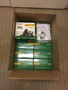 12 Lot Of Yealink Enterprise Ip Phone Sip t20p New In Box