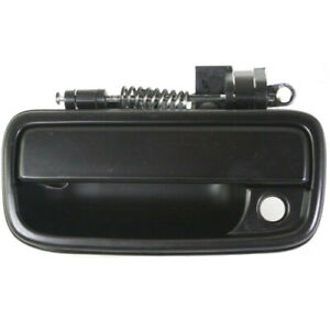 New Driver Side Exterior Door Handle For 95 04 Toyota Tacoma To1310128 Black