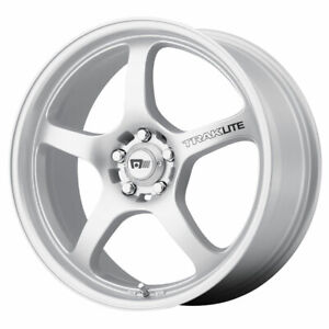 Motegi Mr131 Traklite Rim 18x8 5x100 00 Offset 45 Silver Quantity Of 4