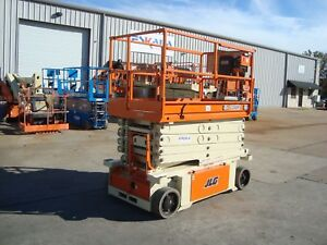 Jlg Scissor Lift 3248rs Year 2012 32 Feet H X 48 Inches W Electric 10rs 32