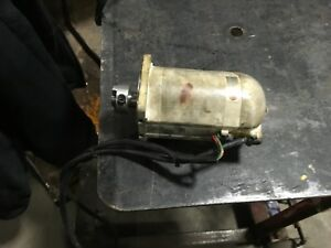 Panasonic Ac Servo Motor Model Msm082asa Came Off Star Robot Warranty