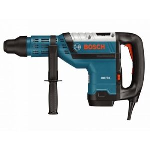 Bosch Rh745 13 5 Amp Corded 1 3 4 In Sds max Variable Speed Rotary Hammer Drill