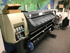 Hp Designjet L25500 Wide Format Latex Printer 60 Inch used Good Condition