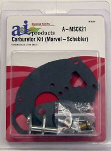 Brand New John Deere Tractor Carb Kit Fits 2010
