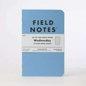 Very Rare Sold Out Field Notes Wednesday Fnw 01 Sealed 2 pack Memo Notebook Book